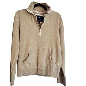 AMERICAN EAGLE PULLOVER 1/4 ZIP ~ XS